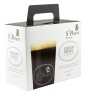 St Peter's Cream Stout 36pt beer brewing kit