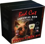 Bulldog Bad Cat Imperial Red 40 pt Home Brew Beer Kit