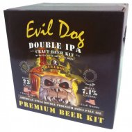 Bulldog Evil Dog American Double Strength IPA 40 pt.Home Brew Kit
