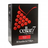 Cellar 7 Merlot 30 Btl Red Wine Making Kit