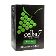 Cellar 7 Pinot Grigio 30 Btl White Wine Making Kit