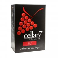 Cellar 7 Shiraz 30 Btl Red Wine Making Kit