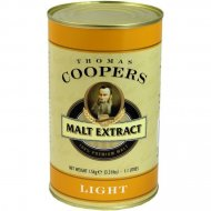 Coopers Malt Extract Light, Amber & Dark