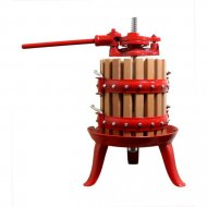 Wood & Cast Iron Fruit Press 6, 12 & 18 litre