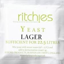 Ritchies Lager Yeast 5g