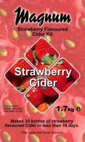 Strawberry Cider -  Magnum