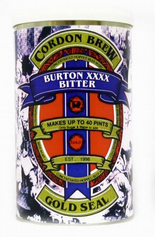 Cordon Brew Gold Seal Burton XXXX Bitter 40 pt Home Brew Beer Kit
