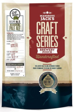 Mangrove Jacks NZ Pale Ale - Craft Series - Beer Making Kit