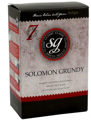 Medium Dry White Solomon Grundy Classic