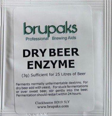 Brupaks Dry Beer Enzyme