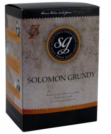 MERLOT Solomon Grundy Gold