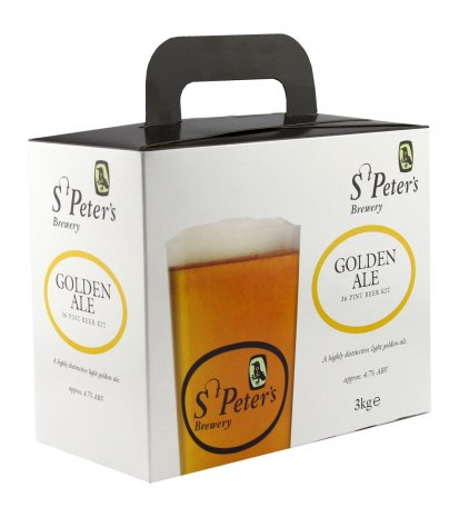 St Peter's Golden Ale 36pt Beer Brewing Kit