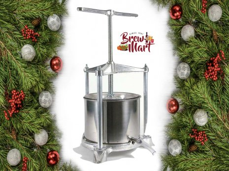 5.5L Aluminium and Stainless Steel Fruit Press