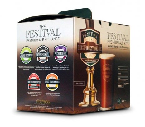 Festival Old Suffolk Strong Ale Beer Making Kit