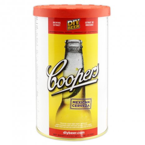 Coopers Mexican Cerveza Beer Making Kit
