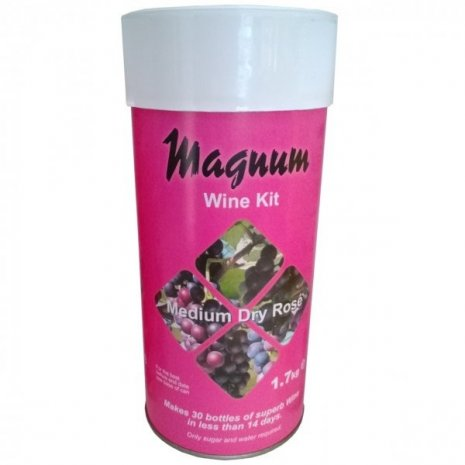 Medium Dry Rose  - Magnum Home Brew Wine Making Kit