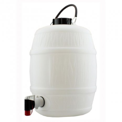 2 G/10L Food Grade Plastic Barrel for home brewing