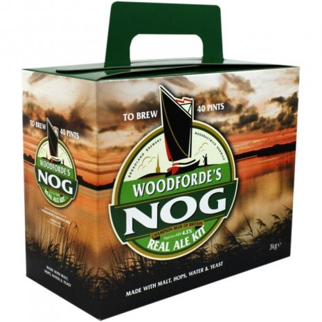 Woodfordes Norfolk Nog Porter Beer Brewing Kit