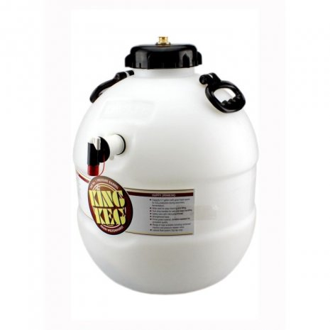 King Keg 5G/25L Home Brew Barrel with top tap & S30 valve - 4
