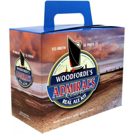 Woodfordes Admirals Reserve Beer Brewing Kit