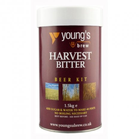 Youngs Bitter Harvest Beer Brewing Kit