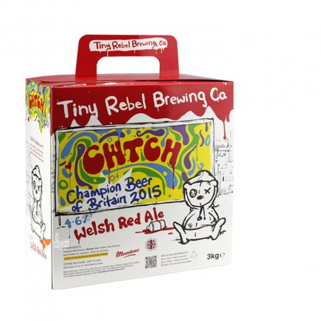 Tiny Rebel Cwtch Welsh Red Ale Beer Brewing Kit
