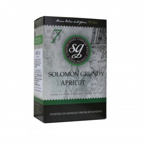 Solomon Grundy Country Apricot 1G Wine Making Kit