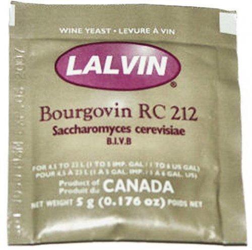 Lalvin Burgundy RC212 Yeast
