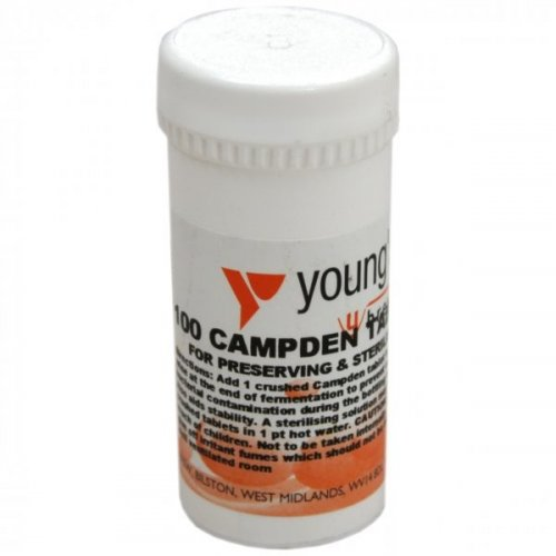 Campden Tablets 100s