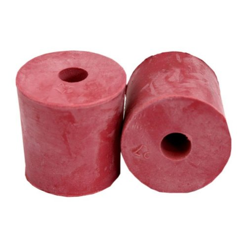 Rubber Bung Solid or Bored to Fit Standard Demijohn: Rubber Bung Bored