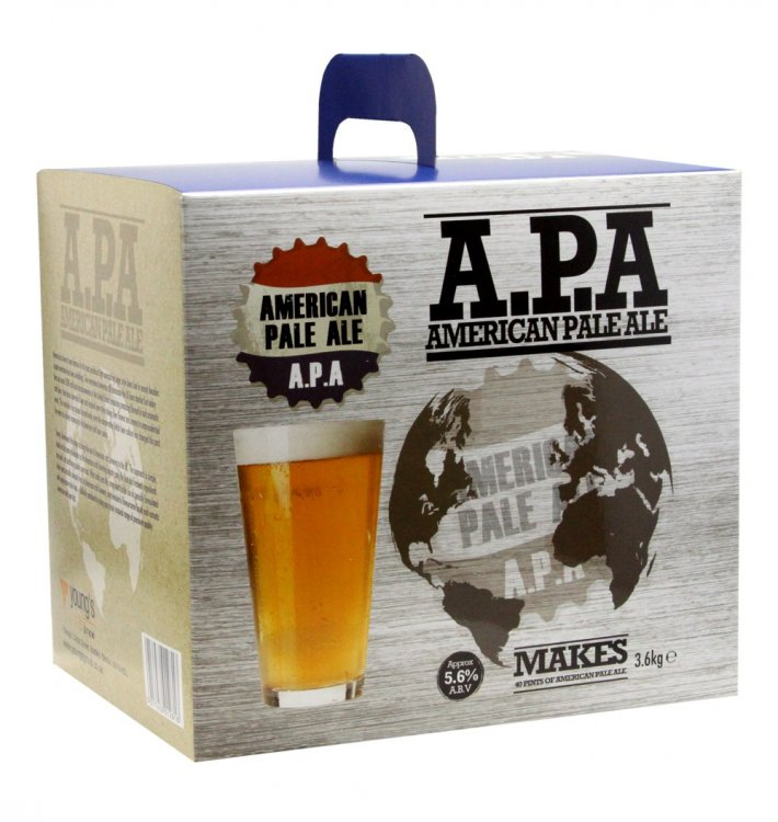 Youngs American Pale Ale Beer Brewing Kit